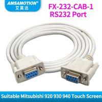 ingrosso cablaggio del cavo rs232-FX-232-CAB-1 Cavo porta RS232 adatto Mitsubishi GOT-F900 920 930 940 GT1275 Cavo di programmazione touch screen FX232CAB-1