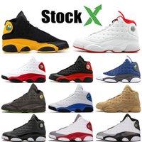 sapatos barão venda por atacado-Nike Air Jordan Retro 13 13 13s Jumpman Meninos da Juventude Basquetebol Favorita Shoes Classe OFF Barons DMP Branco Designer de luxo Sneakers Homens 7-13