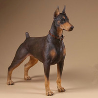 Wholesale statues resale online - Foraway Mr Z Doberman Pinscher Dog Statue Made in China Support Drop Shipping