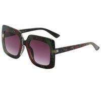 gafas de sol de escenario al por mayor-Gafas de sol de lujo de moda Stage Show Gafas de sol de explosión que combinan con el color para mujeres y hombres Protección UV400 Gafas Gafas Sombrillas