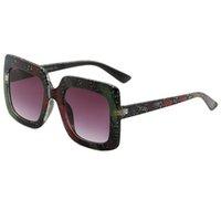 ingrosso occhiali da sole-Occhiali da sole di lusso alla moda Stage Show Occhiali da sole esplosione abbinati al colore per donna e uomo Occhiali da sole con protezione UV400 Occhiali da sole