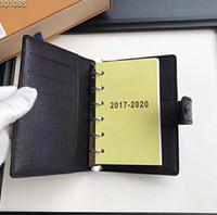 cahier à carreaux achat en gros de-Bloc-notes en cuir à feuilles mobiles multifonctions haut de gamme, bloc-notes de réunion, bloc-notes de réunion, bloc-notes