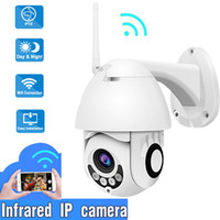 Wholesale outdoor waterproof security camera for sale - Anspo Full HD P IP Camera WiFi Outdoor PTZ Speed Dome CCTV Camera Waterproof Wireless Security Video Audio Camara ipcam US Plug