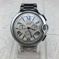 relógios de luxo venda por atacado-Luxo 3 Três fusos horários à prova de água-relógio dos homens Casual Relógios mestre nível de design de alta qualidade mens militar Relógios de Negócios relógio esportivo
