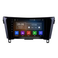 android dvd gps wifi nissan großhandel-9 Zoll Android 9.0 HD Touchscreen Auto Stereo für 2012-2017 NEUE Nissan X-TRAIL Qashqai mit Bluetooth GPS Navigation WIFI Unterstützung Auto DVD