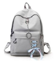 Wholesale butterfly travel bag for sale - Group buy 2019 New Fashion Oxford Butterfly Bow Lady s Travel Bag Personalized chain large capacity travel bag Women s Simple School