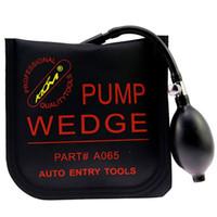 automatische verriegelungsöffnungswerkzeuge großhandel-Klom Pump Wedge Mittelgroße Air Wedge Airbag-Verschluss-Auswahlsatz Offene Autotür Schlosserwerkzeuge Auto