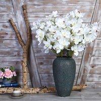 künstliche orchideen blüht köpfe großhandel-1 köpfe silk orchidee einteilige blume künstliche blume einrichtungsgegenstände spiel hochzeit blume orchidee tischdekoration hochzeitsdekoration
