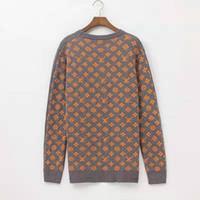 xxl sweater jacket women venda por atacado-Alta qualidade Hot Men Women Costura padrão à moda antiga sweater sweater tracksuits jumper jaqueta Hoodies das mulheres tamanho S-XXL p158.