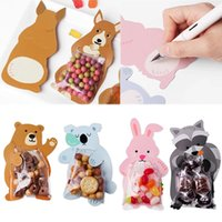 Wholesale greeting box for sale - Group buy Shower Birthday Party Cute Gift Bags Candy Bags Cookie Bags Bear Candy Box Greeting Cards Popular Rabbit
