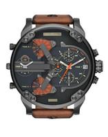 weiqin assistir moda venda por atacado-TOP qualidade Esporte montres militares mens novo reloj 55mm diesel de discagem grandes relógios relógio dz dz7331 DZ7332 DZ7315