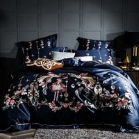 Wholesale king sized bedding sale online - Hot sale cotton White and Black lace Sexy Love Flower element Bedding Set Printed Bedspread Bed Sheet Queen Double Size