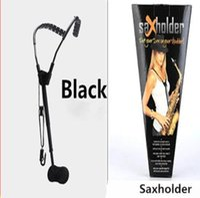 modèle de cou arrière achat en gros de-2019 Modèles suisses pour saxophone Cou Sax Sax Bretelles invisibles Dorsale Protection longe Sangles cervicales