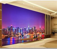 Wholesale wallpapers for livingroom for sale - Group buy 3d photo wallpaper custom size mural Chinese city night view picture livingroom bedroom sofa TV backdrop d wall mural wallpaper for wall d