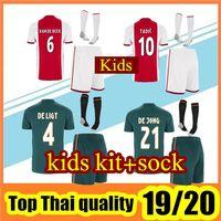 Wholesale boys products for sale - Group buy New product Ajax FC Soccer Jerseys home kids kits Customized DE LIGT VAN DE BEEK TADIC DE JONG Football Shirt