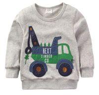Wholesale baby boy mickey clothes for sale - Group buy 2019 Boys T shirt Kids Autumn Jackets T shirt Baby Boy Clothes Camiseta Roupas Infantis Menino Mickey Sweatshirts