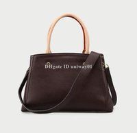 Wholesale discount totes for sale - Group buy Promotion Discount Quality Leather Women shoulder bag tote classic flower checked damier