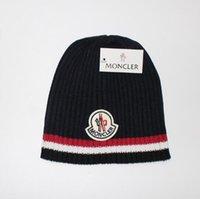 boa qualidade chapéus de lã venda por atacado-Nova boa qualidade marcas de luxo V outono inverno Unisex chapéu de lã moda casual carta chapéus para mulheres dos homens designer cap 088