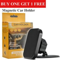 Wholesale dash mounted gps resale online - 360 Degree Rotated Magnetic Car Mount Cellphone Car Holder Air Vent Bracket Holders for iPhone Samsung Universal Phones GPS Dash with Box