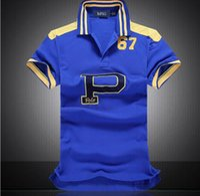 ralph polo xxl großhandel-Aape Mens Designer Polos Marke Pferd Krokodil Stickerei Kleidung Männer Brief Polo T-Shirt Kragen Casual T-Shirt T-Shirt XXLRalph Lauren