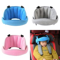 Wholesale pillow safety belts resale online - Car Child Seat Headrest Baby Head Fixed With Belt Protection Pad Car Safety Seat Head Support