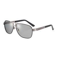 anti lejos al por mayor-Gafas de sol polarizadas descoloridas de doble uso. Gafas de sol especiales para conducir con luz lejana, para hombres, antideslizantes y sudor