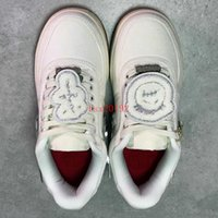 Wholesale casual shoes high cut for sale - Group buy High Quality Forces x Travis Men Women White SCOTTs Skateboard Shoes M reflect Fashion Casual Sneakers Size