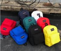seyahat sırt çantası erkek çift omuz toptan satış-2019 ew tarzı Çift Omuz Çantası Kahart Erkekler ve Kadınlar Gelgit öğrencinin Sırt Çantası Eğlence Seyahat Spor Büyük Kapasiteli Aracı sırt çantası