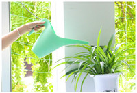 ingrosso pentole da giardino-Home Garden Long Watering Pot 1L 1.8L Watering Plastic Kettle Per Giardinaggio domestico Patio Garden Tools