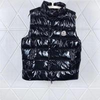 vêtements de marque de velours femmes achat en gros de-Hommes Veste Designer Gilets Manteau de duvet avec capuche imperméable pour Luminous Hommes Femmes Marque-vêtement coupe-vent Veste à capuche luxe Vêtements épais