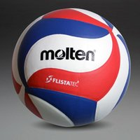 Wholesale volleyball ball resale online - Factory Molten Volleyball Ball NCAA5000 Official Size Weight Top Quality Compitition Match Soft Touch Volleyball Ball voleibol