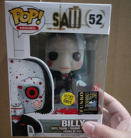 Wholesale see toys resale online - Funko POP SAW BILLY Action Figure Collectible Model Toy with Box limited luminous version T190912