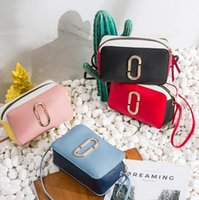 Wholesale mobile camera supply for sale - Group buy New camera rope hit color small square bag shoulder diagonal mobile phone small bag supply female bag
