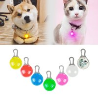 Wholesale dog collar bright light for sale - Group buy Dog Cat Collar Glowing Pendant Night Safety Pet Leads Necklace Luminous Bright Decoration Collars For Dogs Cat Safety lighting