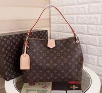 vücut çarpı çantası toptan satış-Lüks Tasarımcı Kadınlar Gerçek Deri Çanta Bayan Satchel Çanta Çapraz Vücut Omuz Çantaları Bayanlar Tote Çanta Bolsa Feminina