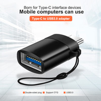 Wholesale 3 Packs Mobile Computer TYPE C To USB3 Adapter3 A Transfected Type c OTG Adapter