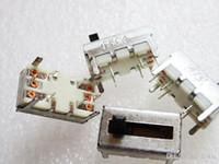 ingrosso potenziometro dritto-Doppio battente dritto potenziometro B50K B503 lunghezza della maniglia 5 millimetri