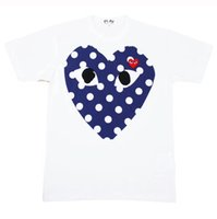 Wholesale heart clothing sale online - Mens Tshirts Women Tshirt Hot Sale Short Sleeve Tees Heart Print Funny T shirt Solid Color Summer Clothes