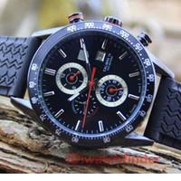 etiquetas de relojes de lujo al por mayor-De lujo Automático Etiqueta Automática Reloj Reloj Correa de Goma para hombre Relojes Hombres Reloj Relojes de pulsera Orologio Di Lusso Montre De Luxe