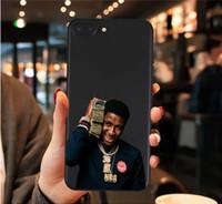 bozuk iphone telefonlar toptan satış-Youngboy Asla Tekrar Kırdı Merch telefon kılıfı için iPhone X XR XS Max 8 7 6 s Artı 5 s Samsung Galaxy s8 s9 artı s7 Kenar Not 8 9 Kılıfları