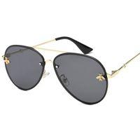 солнцезащитные очки класса люкс оптовых-2019 Новый высококачественный бренд дизайнер роскошные женские солнцезащитные очки женские солнцезащитные очки круглые солнцезащитные очки