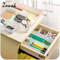 Wholesale cosmetic trays resale online - 1pc Organizer Trays Home Office Storage Kitchen Bathroom Closet Desk Box Drawer Organization Tray Cutlery Cosmetics