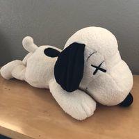 tiere spielzeug für kinder großhandel-Neue 11 Zoll kaws Snoopy Surprise Bull dog Plüschtiere Kuscheltiere Husky Schlüsselanhänger Plüsch Rucksack Zubehör