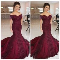 23aa9db74dda44 Wholesale purple short sleeve maxi dress for sale - Elegant Slim Short  Sleeves Mermaid Prom Dresses