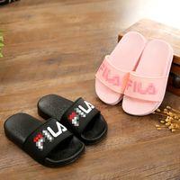 chaussures aux pieds nus pour les enfants achat en gros de-Enfants D'été Enfants Pantoufles Sandales Occasionnelles Sandales Semelle Souple Mode De Mode Chaussures Aux Pieds Nus Mule Pour Garçons Filles Bain Chaussures De Plage