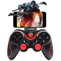 consola de jogos bluetooth venda por atacado-Controlador de jogo sem fio bluetooth ios android android telefone game pad console para iphone huawei samsung xiaomi