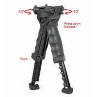 Wholesale t pod foregrip bipod resale online - T POD G2 Rotating Tactical Foregrip Bipod Tan