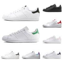 yeni moda ayakkabı fiyat toptan satış-Sınır Düşük Fiyat Satış En Kaliteli Bayan Yeni Stan Ayakkabı Moda Smith Sneakers Klasik Düz Rahat Deri Spor Parti Ayakkabı Boyutu 36-46