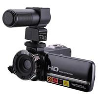 vision nocturne contrôlée à distance achat en gros de-Caméscope avec zoom numérique IR 1080p 24MP 16X avec caméra de vision nocturne