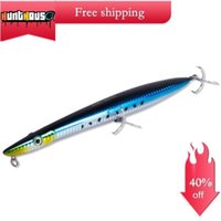 Wholesale trolling spinners lures for sale - Group buy Hunthouse hydra fishing lure Barracuda surface lure mm g mm g long casting pencil stickbait floating pesca T191017